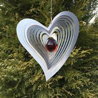 Modell Svängt hjärta röd