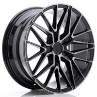 JR Wheels JR38 19x8,5 ET20-45 5H BLANK Black Brush