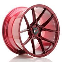 JR Wheels JR30 20x10 ET20-40 5H BLANK Platinum Re