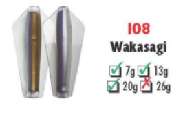Tasmanian Devil #108 Wakasagi 7 gram