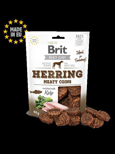 Brit Jerky Herring Meaty Coins 80g