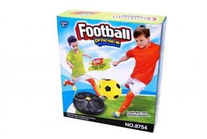 Fotbollstränare med boll + pump