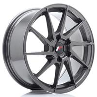 JR Wheels JR36 20x10 ET20-45 5H BLANK Hyper Gray