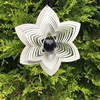 Modell Blomma blålila