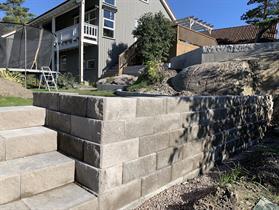 Beton trapp element