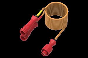 Alfano Y-adapter for 2 x temp