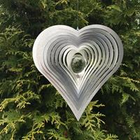 Modell Hjärta Kurvigt klar