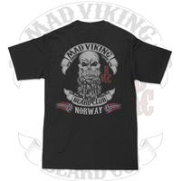 Mad Viking Beard Club Norway tee M