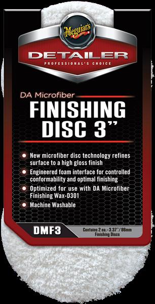 "DA Microfiber Finishing Pad 3"" 2-pack"