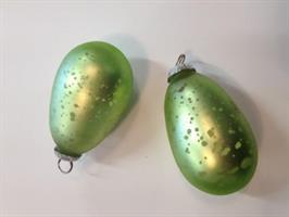 Gröna fattigmanssilver glasägg