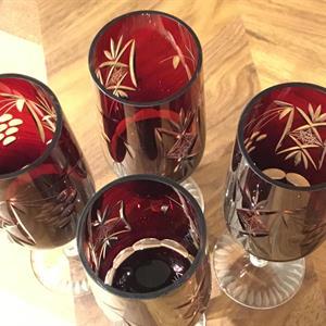 Glas Böhmisk stil