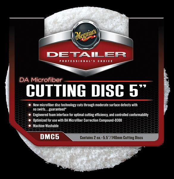 """DA Microfiber Cutting Pad 5"""" 2-pack"""