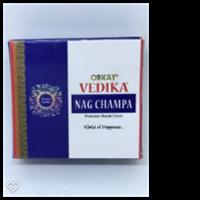 Vedika Orkay Nag Champa rökelsekon 10 pack