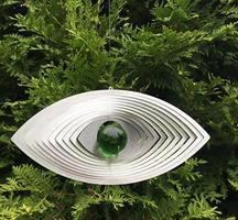 Modell Öga grön