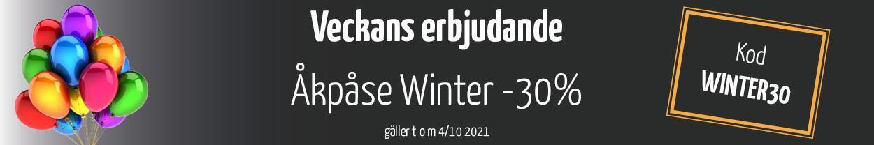 Veckans erbjudande! Åkpåse Winter -30%