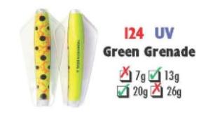 Tasmanian Devil #124 Green Grenade  13.5 gram