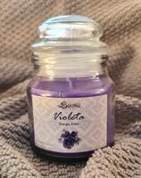 Glasljus Violet
