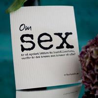 Design disktrasa från Erika Tubbin om sex