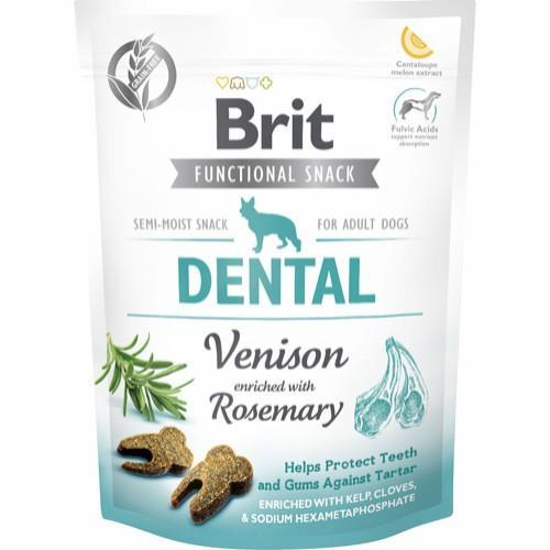 Brit Care Functional Snack Dental Venison 150g