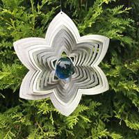Modell Blomma blå