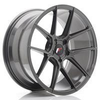 JR Wheels JR30 21x9 ET20-40 5H BLANK Hyper Gray