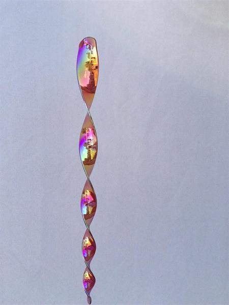 Spiral guld/rosa