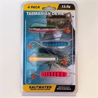 Tasmanian Devil Saltwater 13.5g 4pk
