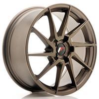JR Wheels JR36 18x8 ET20-52 5H BLANK Matt Bronze