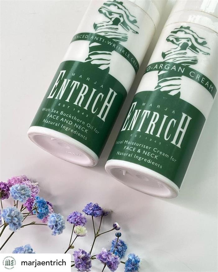 20% på Eco Argan cream och Advanced Anti-Wrinkle Cream från Marja Entrich