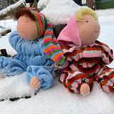 Joo, men vi trivs också ganska bra  i snö!