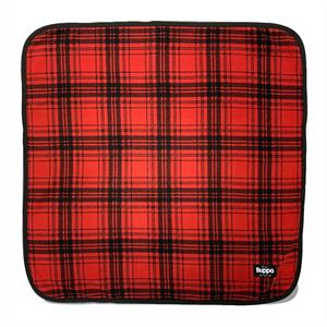 Blanket Double Fleece Red Checked OUTLET