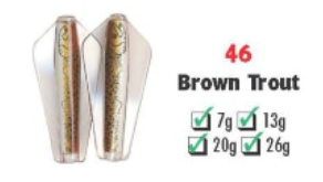 Tasmanian Devil Brown Trout #46 26 gram