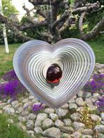 Modell Kombihjärta L röd