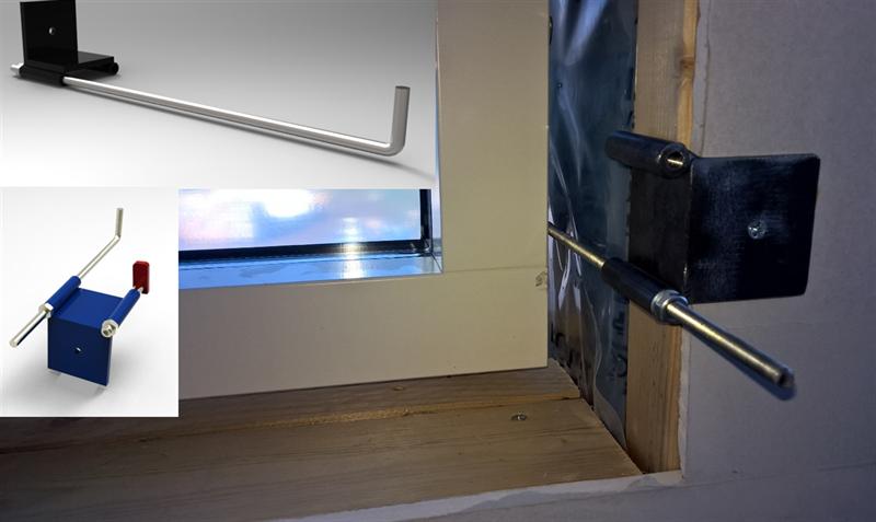 fönstermonteringsverktyg