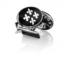 Manschettknappar Sterling silver, Fleur de lys