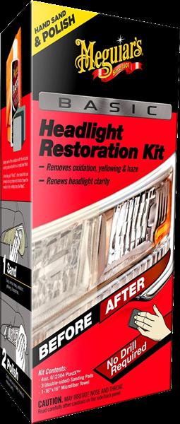 Basic Headlight Restoration Kit