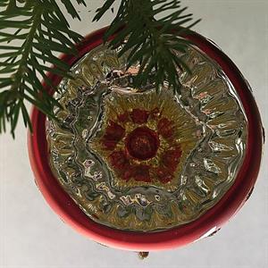 Julekule med refleks, 8 cm