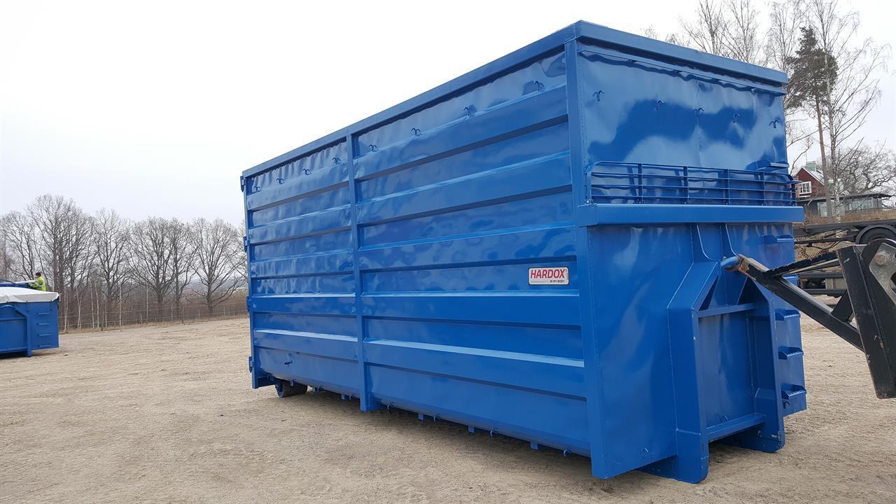 Flis- och skrotfraggcontainer
