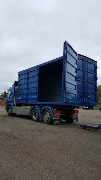 40 kbm Öppningsbar container