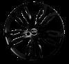 GMP DYNAMIK  20X11 Shiny Black