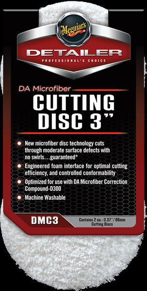 "Microfiber Cutting Pad 3"" 2-pack"