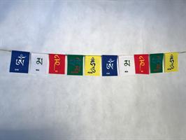Tibetanska böneflaggor