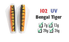 Tasmanian Devil #102 Bengal Tiger 13.5 gram