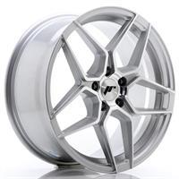 JR Wheels JR34 20x10 ET20-40 5H BLANK Silver Machi