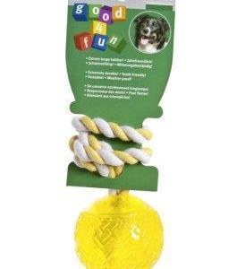 Good 4 funboll med flosshandtag