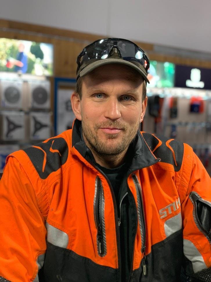 Jahn-Philip Huatorpet daglig leder / eier