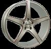 MONACO TR4 SILVER/RED 8,5X20 5X112 ET45