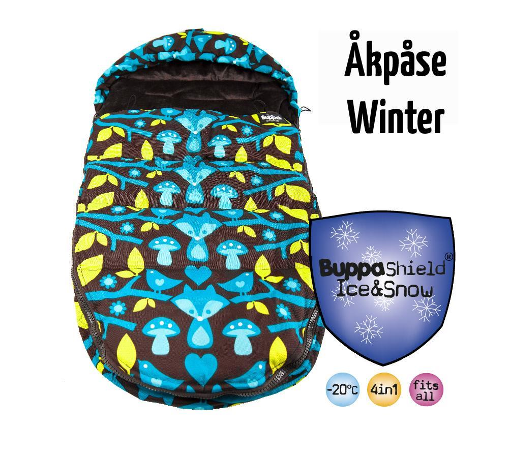 Åkpåse Winter - en varm åkpåse som klarar en riktig vinter!