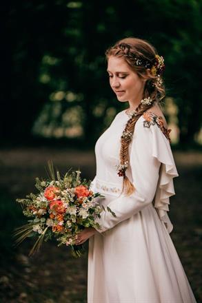 brudbukett foto Anna Maria Liljestrand