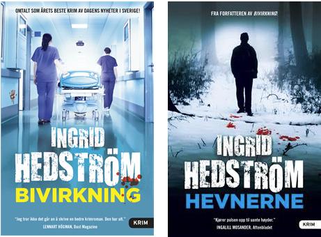 2 pocketnyheter + Hevnerne av Ingrid Hedström på lager